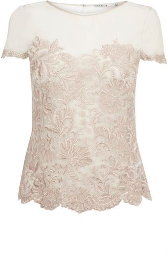 Karen Millen Coloured Lace Collection - Lyst