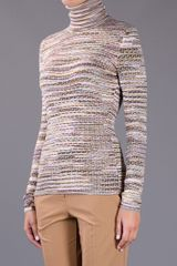 Missoni Turtleneck Sweater in Multicolor (multicolour) - Lyst