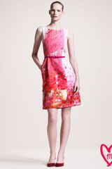 Oscar de la Renta Bg 111th Anniversary Faille Dress - Lyst
