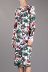 Preen Floral Moth Print Dress in Floral - Lyst