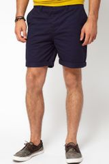 Asos  Chino Shorts with Aztec Pocket - Lyst