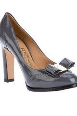 Ferragamo Court Shoe - Lyst