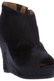 Jeffrey Campbell Tick Wedge Bootie - Lyst