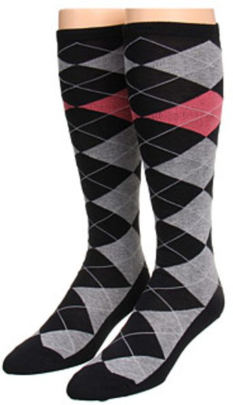 Kate Spade Argyle Knee High 2 Pack - Lyst