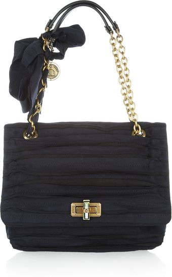 Lanvin Happy Grosgrain Shoulder Bag - Lyst