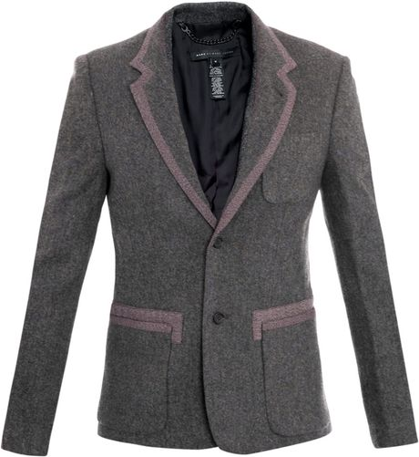 Marc By Marc Jacobs Yelena Felt Jacket in Gray for Men (grey)