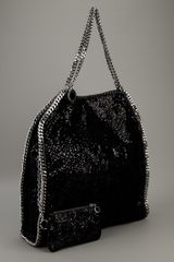 Stella Mccartney Falabella Tote in Black - Lyst