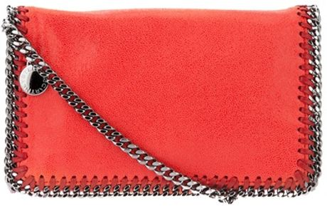 Stella Mccartney Falabella Bag in Red (orange) - Lyst