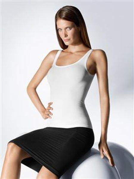 Wolford Havanna Top in White - Lyst