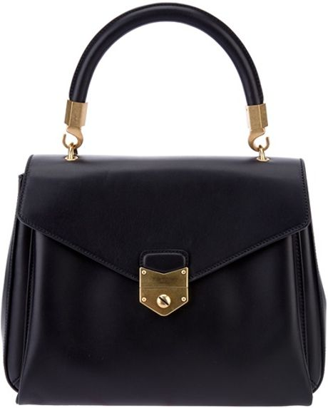 Yves Saint Laurent Classic Satchel in Black - Lyst