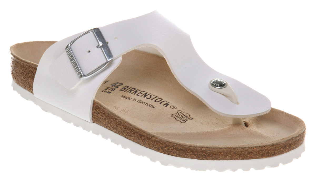 917e70570 Birkenstock Ramses Thong Sandal White Rubber in White for Men - Lyst