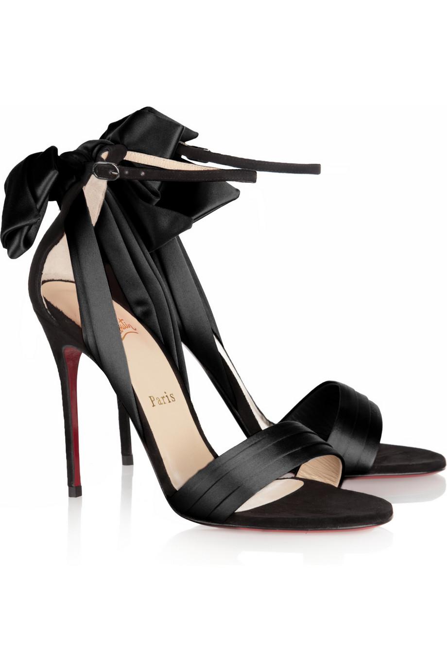 562a62f224c cheapest louboutin black strappy sandals 6b0da 6585f