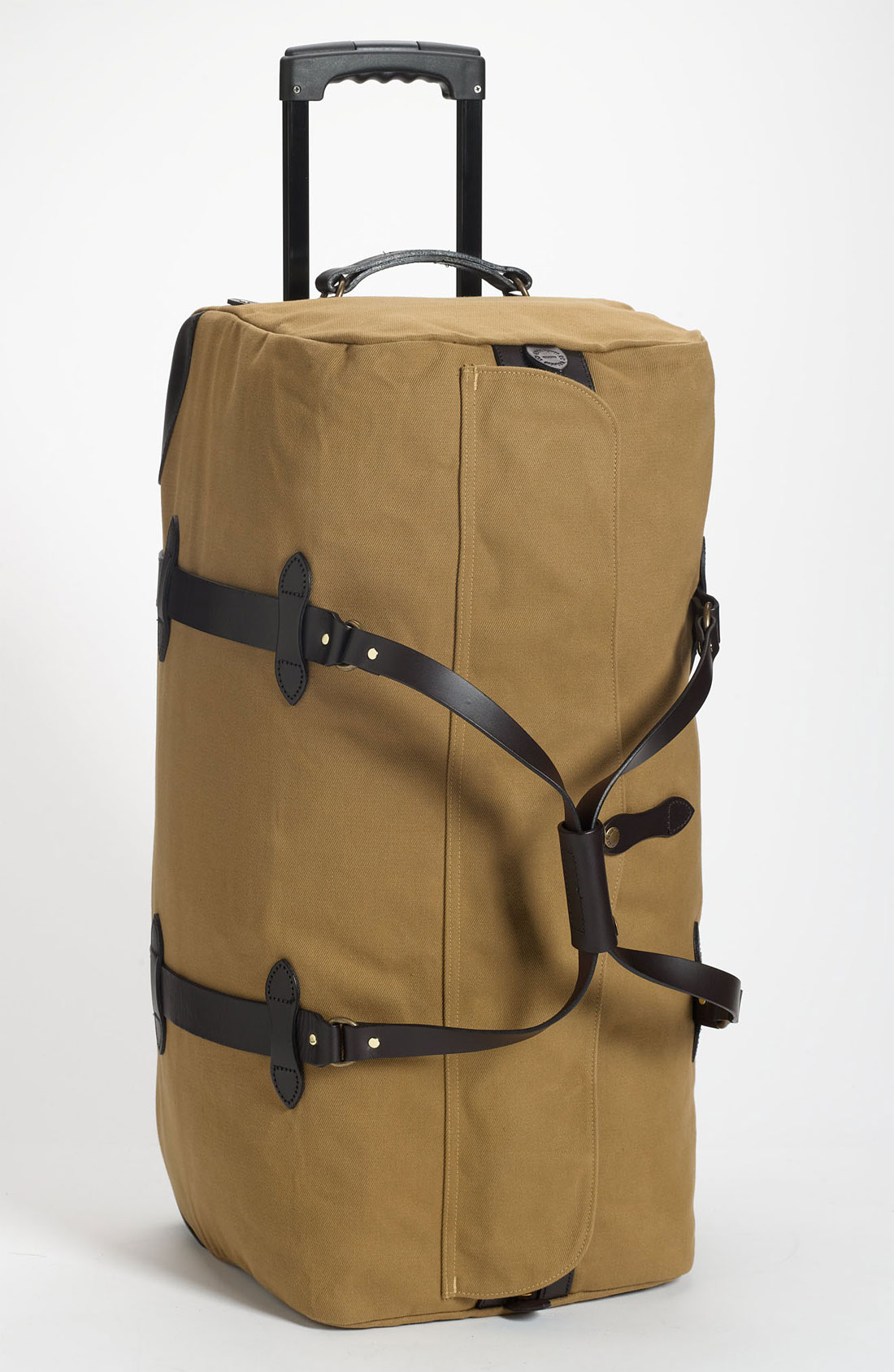 filson large wheeled duffle bag in beige for men tan lyst. Black Bedroom Furniture Sets. Home Design Ideas