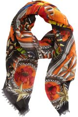 Givenchy Birds Of Paradise Square Scarf - Lyst