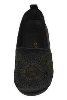 House Of Harlow Kye Circle Laser Slip On Style Loafer - Lyst