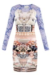 Mary Katrantzou Powdy Horse Jersey Dress - Lyst