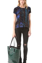 Mcq By Alexander Mcqueen Day in Day Out Shopper in Green - Lyst