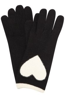 Moschino Cheap & Chic Heart Knitted Gloves - Lyst