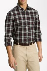 Wallin & Bros. Plaid Sport Shirt - Lyst