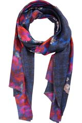 Erdem Doublesided Abstract Floral Scarf - Lyst