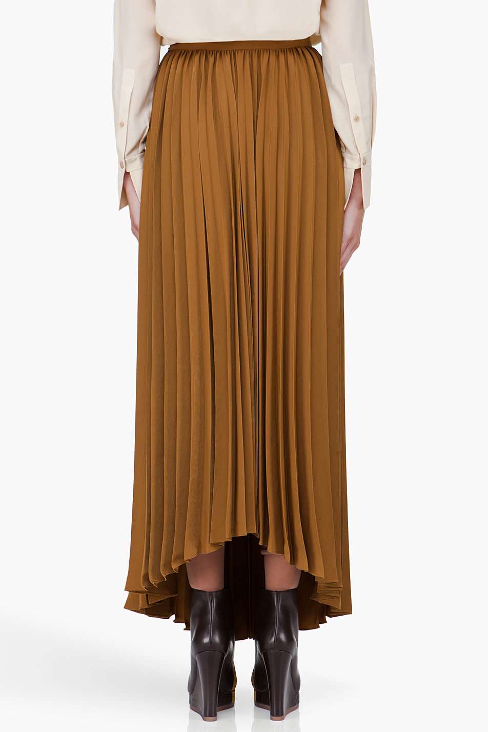 Brown Long Skirt 36