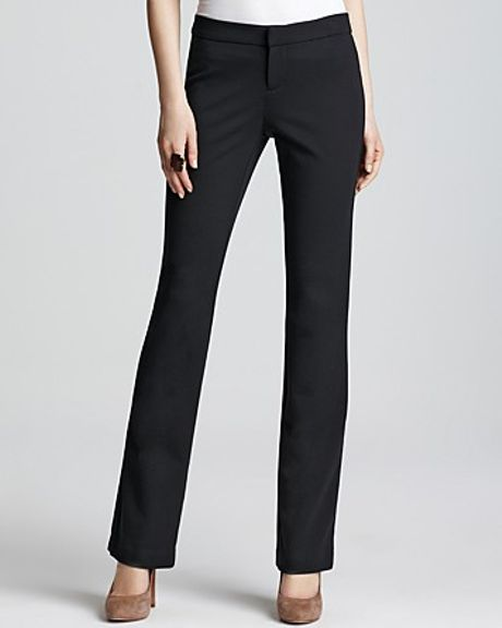 Michael Kors Michael Black Bootcut Pants in Black - Lyst