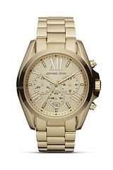 Michael Kors Ladies Round Gold Sport Watch - Lyst
