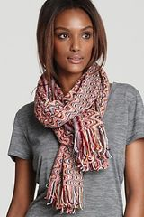Missoni Wave Oblong Scarf with Fringe - Lyst
