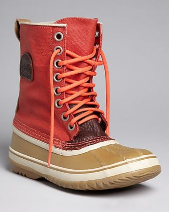 Sorel Lace Up Cold Weather Boots Premium - Lyst