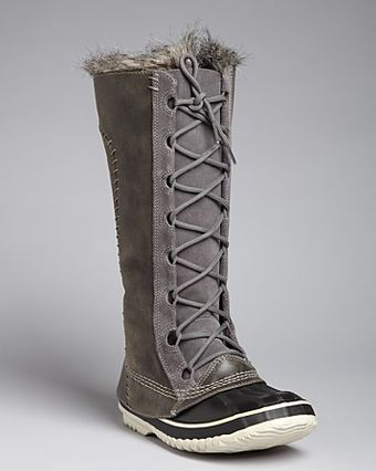 Sorel Tall Cold Weather Lace Up Boots Cate The Great - Lyst