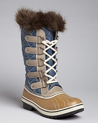 Sorel Cold Weather Lace Up Boots Tofino - Lyst