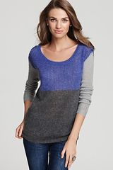 Splendid Sweater Color Block Pullover - Lyst