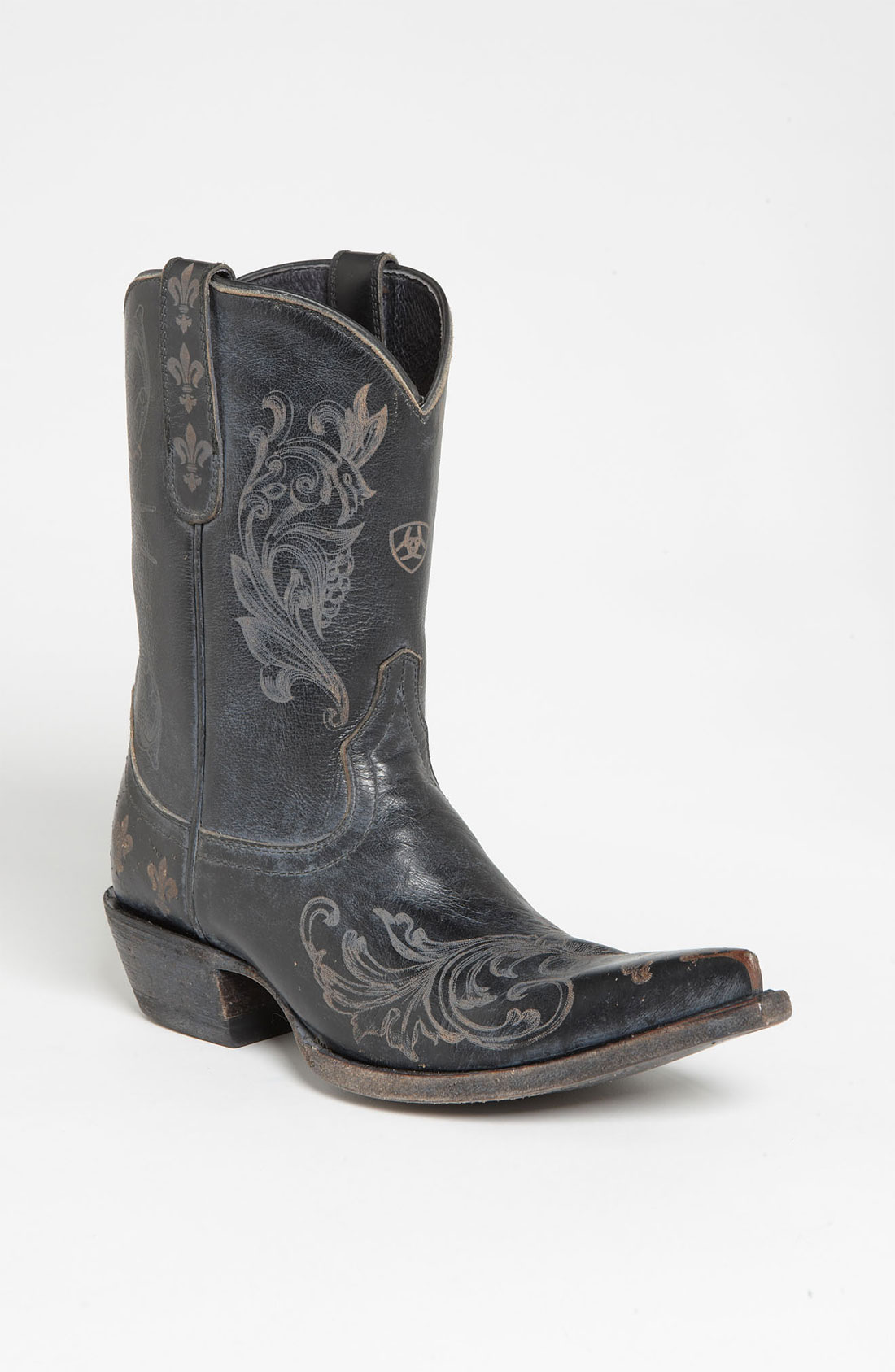 ariat pegosa boot in black washed black lyst