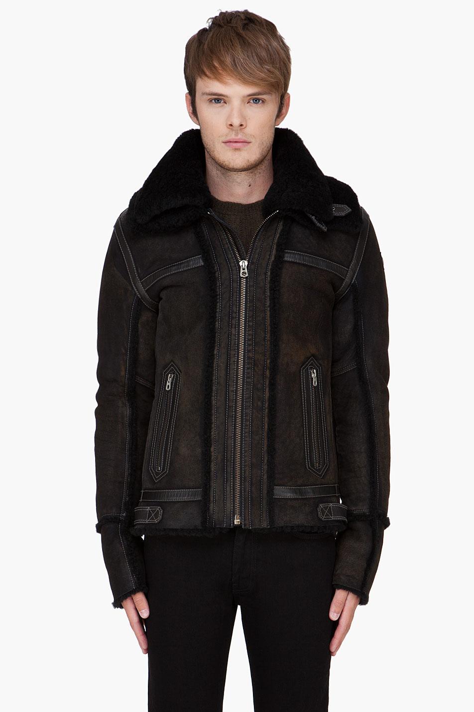 Diesel Sheepskin Jacket