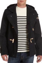 Gloverall Toggle Button Duffle Coat - Lyst
