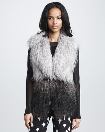 Graham & Spencer Fauxfur Vest - Lyst