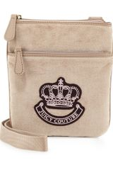 Juicy Couture Velour Crossbody Bag Ancient - Lyst