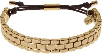 Michael Kors Watchlink Bracelet Golden - Lyst