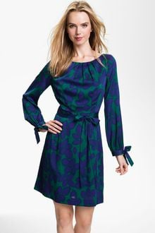 Milly Clemie Stretch Silk Aline Dress - Lyst