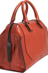 Narciso Rodriguez Medium Bowler Tote in Red - Lyst