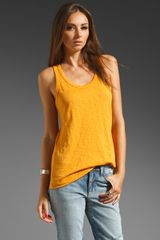 Rag & Bone The Beater Tank - Lyst