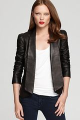 Rebecca Minkoff Leather Jacket Becky - Lyst