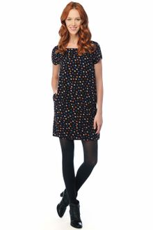 Splendid Mod Dot Shift Dress - Lyst