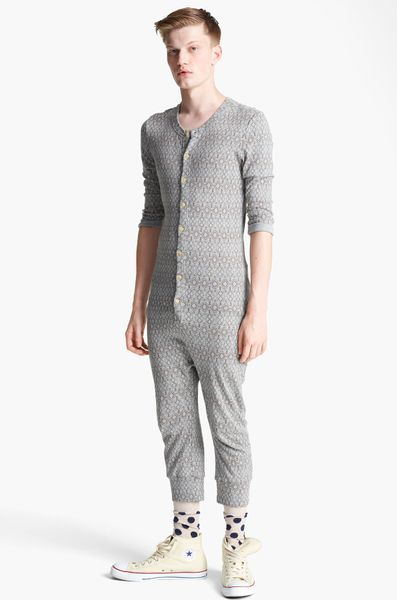 Topman Aztec Pyjamas in Gray for Men (light grey) - Lyst