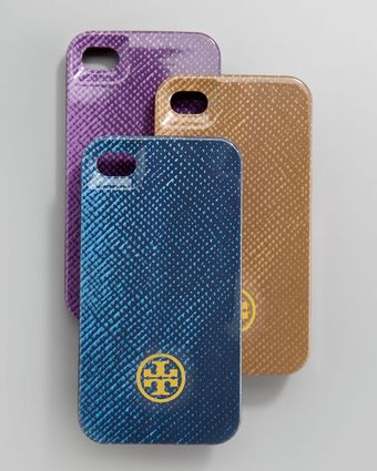 Tory Burch Saffiano-print Hard I-phone 4 Case - Lyst