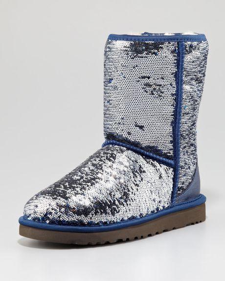 blue uggs sparkle