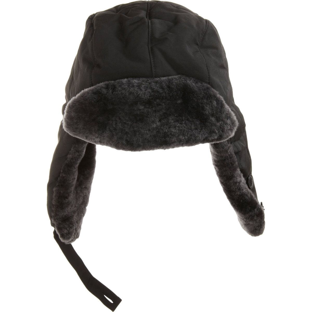 Woolrich Fur Trapper Hat in Black for Men - Lyst 5007e511f7a4