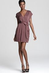 Theory Dress Talya Cicero in Purple (auburn smoke) - Lyst