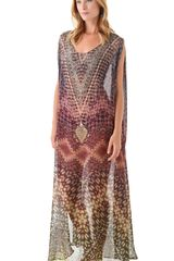 Camilla Caftan Cover Up - Lyst