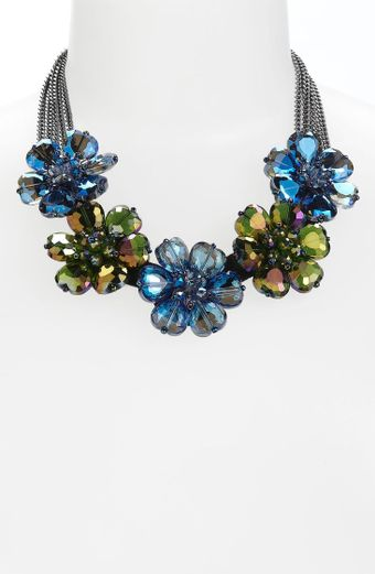 Cara Accessories Statement Necklace - Lyst